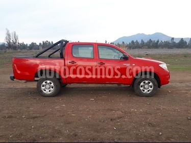 Toyota Hilux 2.5 4X4 Cabina Doble Active  usado (2011) color Rojo precio $7.500.000