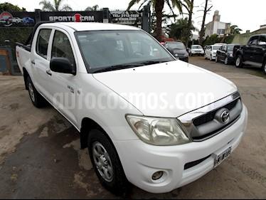 Foto venta Auto Usado Toyota Hilux 2.5 4x4 DX Pack DC (2009) color Blanco precio $375.000