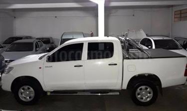 Foto venta Auto usado Toyota Hilux 2.5 4x4 DX SC (2015) color Blanco precio $505.000