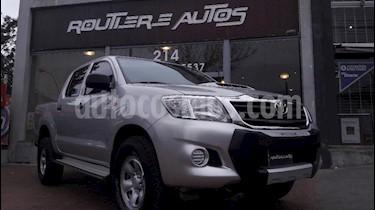Foto venta Auto usado Toyota Hilux 2.5 4x4 DX SC (2013) color Gris Claro precio $510.000