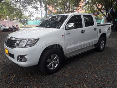 Toyota Hilux 2.5L 4x4 DC Diesel  usado (2014) color Blanco precio $95.000.000