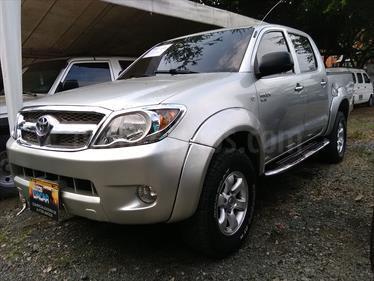 Toyota Hilux 2.5L 4x4 DC Diesel  usado (2008) color Plata Metalico precio $47.000.000