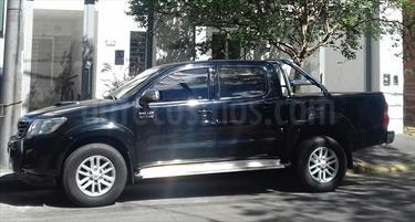 Foto venta Auto usado Toyota Hilux 3.0 4x2 SRV TDi DC Cuero (2014) color Negro Metalizado precio $570.000