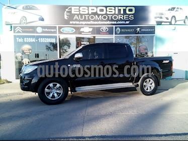 Foto venta Auto usado Toyota Hilux 3.0 4x4 DX DC (2009) color Negro precio $620.000