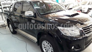 Foto venta Auto Usado Toyota Hilux 3.0 4x4 SRV 5 TDi DC Cuero Aut  (2014) color Negro precio $450.000