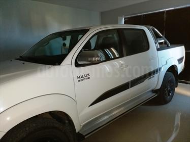 Foto venta Auto Usado Toyota Hilux 3.0 4x4 SRV Limited TDi DC Cuero Aut (2015) color Blanco precio $700.000