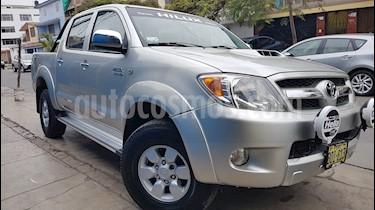 Toyota Hilux 3.0L TD 4x4 C-D SRV usado (2009) color Plata precio u$s18,500
