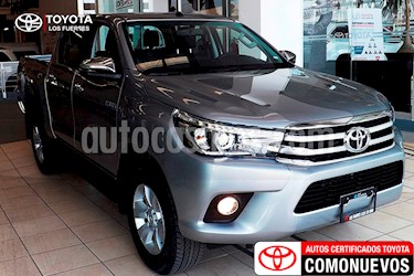 Foto venta Auto Seminuevo Toyota Hilux Cabina Doble Diesel 4X4 Aut (2018) color Plata precio $535,000