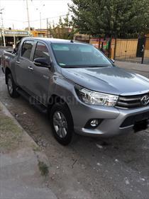 Foto venta Auto Seminuevo Toyota Hilux Cabina Doble SR (2016) color Plata precio $310,000
