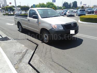 Foto venta Auto usado Toyota Hilux Cabina Sencilla (2014) color Plata precio $215,000