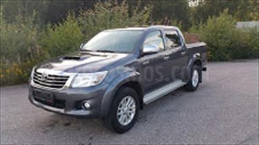 Foto venta carro usado Toyota Hilux Doble Cabina 4.0L 4x4 Aut (2014) color Gris Luna precio u$s9.000