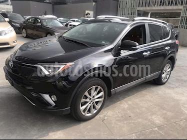 Foto venta Auto usado Toyota RAV4 Limited 4WD (2016) color Negro precio $399,000