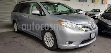 Foto venta Auto Usado Toyota Sienna Limited 3.5L (2013) color Plata precio $339,900