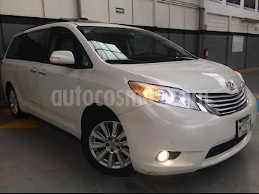 Foto venta Auto Usado Toyota Sienna Limited 3.5L (2013) color Blanco precio $380,000