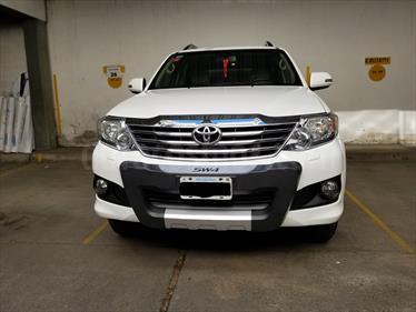 Foto venta Auto Usado Toyota SW4 SRV Aut 7P  (2013) color Blanco precio $650.000