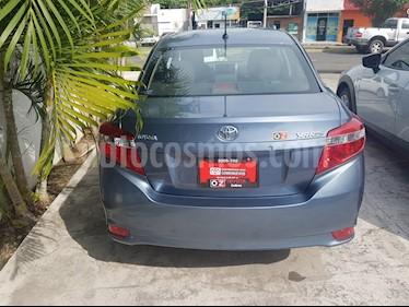 Foto venta Auto Seminuevo Toyota Yaris 5P 1.5L Core Aut (2017) color Azul precio $205,000