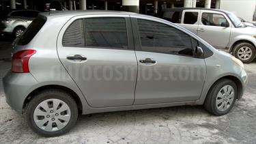 Foto venta Auto usado Toyota Yaris 5P 1.5L Core (2008) color Plata precio $80,000
