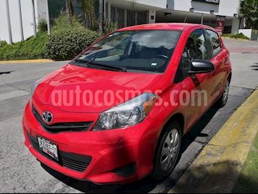 Foto venta Auto Seminuevo Toyota Yaris 5P 1.5L Core (2014) color Rojo Gomez precio $179,000
