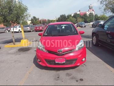 Foto venta Auto usado Toyota Yaris 5P 1.5L Premium Aut (2013) color Rojo precio $130,000