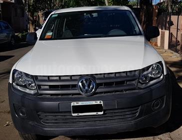Foto venta Auto usado Volkswagen Amarok DC 4x2 Startline (180Cv) (2013) color Blanco precio $680.000