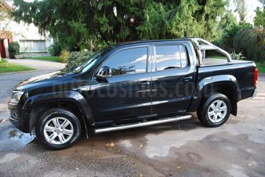 Foto venta Auto usado Volkswagen Amarok DC 4x2 Trendline (2011) color Negro Profundo precio $390.000
