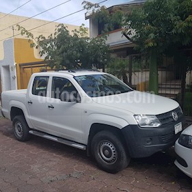 Foto venta Auto Seminuevo Volkswagen Amarok Entry 4x2 TDi  (2014) color Blanco precio $270,000