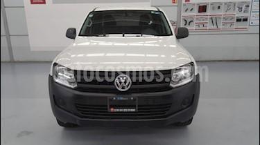 Foto venta Auto Seminuevo Volkswagen Amarok Entry 4x4 TDi (2016) color Blanco Candy precio $299,000