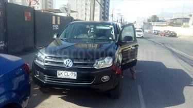 Foto venta Auto usado Volkswagen Amarok Highline 4x4 (2013) color Negro Profundo precio $14.500.000