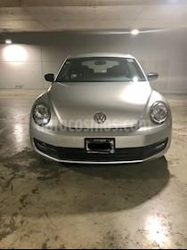 Foto venta Auto Usado Volkswagen Beetle Cabriolet 2.5 (2014) color Plata Reflex precio $185,000