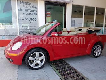 Foto venta Auto Seminuevo Volkswagen Beetle Cabriolet 2.5 (2007) color Rojo precio $120,000