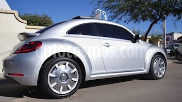Foto venta Auto Usado Volkswagen Beetle Sportline Tiptronic (2013) color Plata precio $202,000