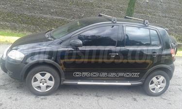 Volkswagen CrossFox 1.6L usado (2007) color Negro precio $80,000