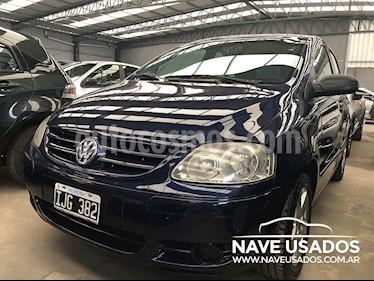 Foto venta Auto Usado Volkswagen Fox 1.6 Trendline (2009) color Azul Oscuro precio $205.000
