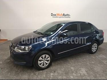 Foto venta Auto Usado Volkswagen Gol Sedan CL Aire (2016) color Azul Noche precio $155,000