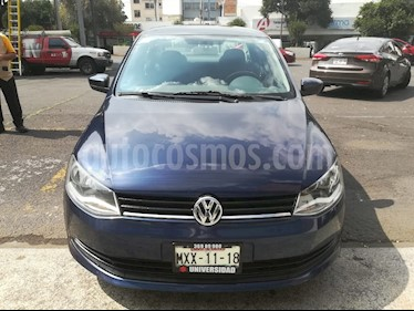 Foto venta Auto Seminuevo Volkswagen Gol Sedan CL Aire (2016) color Azul Noche precio $124,000