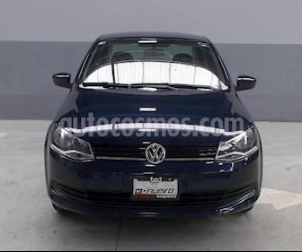Foto venta Auto Seminuevo Volkswagen Gol Sedan GL (2016) color Azul precio $155,000