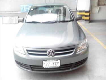 Foto venta Auto usado Volkswagen Gol Sedan Trendline Ac (2012) color Verde Galway precio $95,000