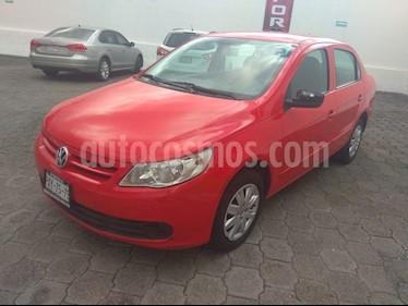Foto venta Auto Seminuevo Volkswagen Gol Sedan Trendline (2012) color Rojo precio $90,000