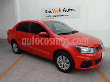 Foto venta Auto Seminuevo Volkswagen Gol Sedan Trendline (2017) color Rojo precio $165,000