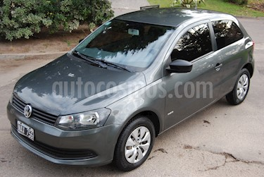 Foto venta Auto Usado Volkswagen Gol Trend 3P Pack II (2013) color Gris precio $140.000