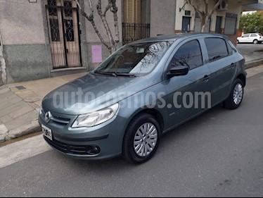 Foto venta Auto Usado Volkswagen Gol Trend 5P Pack I (2011) color Gris Oscuro precio $175.000