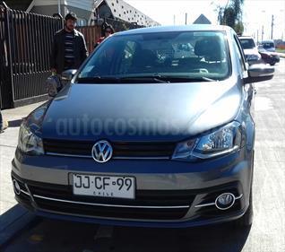 Volkswagen Gol 1.6  Trendline 5P usado (2017) color Gris Grafito precio $6.690.000