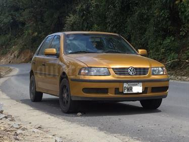 Foto venta Auto usado Volkswagen Gol 1.8 Basico (2001) color Dorado precio u$s7.200