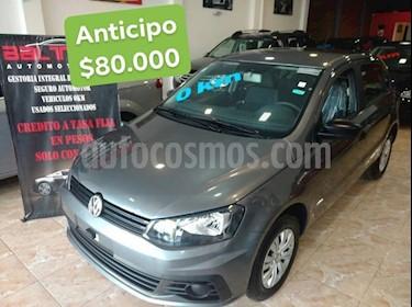 Foto venta Auto Usado Volkswagen Gol 3P 1.6 CL (2018) color Gris Oscuro precio $80.000