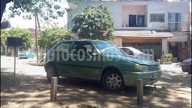 Foto venta Auto usado Volkswagen Gol 3P 1.6 CLi (1996) color Verde Oliva precio $58.000