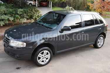 Foto venta Auto usado Volkswagen Gol 5P 1.6 Look (2008) color Gris Oscuro precio $95.000