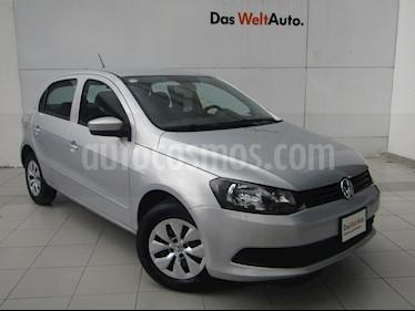 Foto venta Auto Usado Volkswagen Gol CL (2015) color Plata precio $117,000