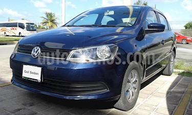Foto venta Auto Seminuevo Volkswagen Gol GL (2015) color Azul precio $120,000