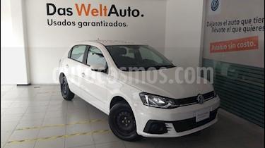 Foto venta Auto Seminuevo Volkswagen Gol Trendline (2018) color Blanco Candy precio $180,000