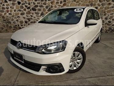 Foto venta Auto Seminuevo Volkswagen Gol Trendline (2018) color Blanco precio $180,000